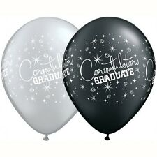 Party Supplies Graduation Congratulations Graduate Latex Balloons Pack of 10