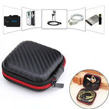 New Waterproof Hard Case Earbud Carrying Box Headset Earphone Storage Pouch Bag