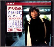 Seiji OZAWA DVORAK Symphony No.8 The Noon Witch CD PHILIPS Wiener Philharmoniker