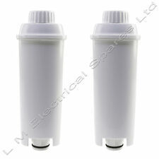 2 Superior Quality Water Filter For Delonghi ECAM26.445M Espresso Coffee Maker