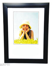 "6 x  Picture Photo 8"" x 10""  Frame Frames BLACK  Wholesale Bulk New"