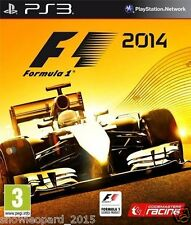 FORMULA 1 F1 2014 PS3 Sony PlayStation 3 Game Brand New Sealed UK Release R2