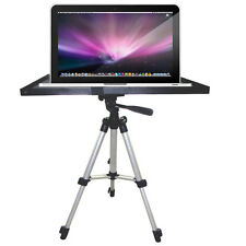 "Laptop Notebook Projector Tray Mount Holder for 1/4"" 3/8"" Screw Tripod Stand New"