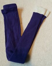 Girls Mini Boden footless tights With Sparkly Cuff Age 5-6 years. Brand New