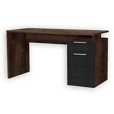 ROLLER Schreibtisch NET Schlammeiche-Schwarzeiche - 140 cm breit