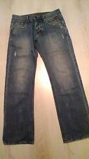 "Smart mens designer ""883 Police"" lightly distressed ""Stola"" jeans 30W x 30L"