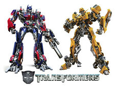TRANSFORMERS Edible WAFER PAPER Party Birthday Cake Decoration Topper Image