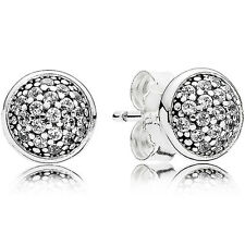 ORIGINAL PANDORA OHRSTECKER OHRRINGE EARRINGS 290726 CZ STERLING-SILBER