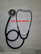 STETHOSCOPE MEDICAL SERIES DUAL HEAD FOR ADULT BLACK (BOXED)