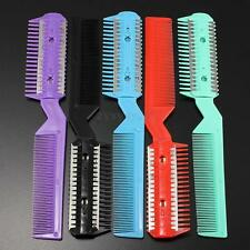 Hair Razor Comb Professional Scissor Home Hairdressing Thinning Trimmer Punk New