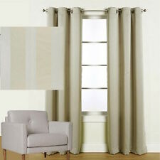 QUICKFIT BLOCKOUT EYELET CURTAIN 3 PASS FOAM COATED BLACKOUT CURTAIN