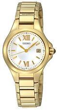 Seiko SXDC18 SXDC18P1 Ladies gold watch white face RRP $550.00