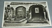 Egern, AK von 1928: Grabdenkmal für Ludwig Ganghofer und Ludwig Thoma. Frankiert