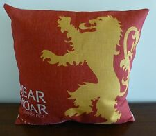 Game of Thrones Lannister Hear Me Roar Cushion Cover