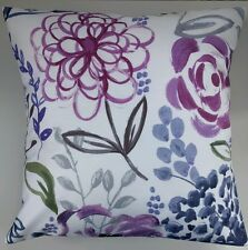 """Cushion Cover in Next Sateen Wild Floral Country Meadow 16"""" Matches Curtains"""