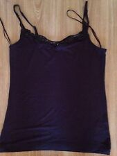 Ladies Oasis Brown Vest Top Uk 12