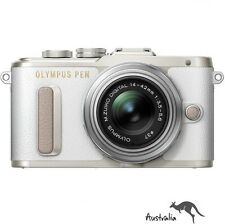 3YR AU WTY☆FREE POSTAGE☆Olympus PEN E-PL8 with 14-42mm Lens Camera Kit (White)
