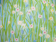 4m Prestigious Spring Daisy Sky Floral Fabric Curtain Upholstery Quilting