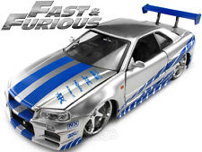 Fast & Furious - Brian's Nissan Skyline GT-R (R34) 1:24 Scale Diecast Model