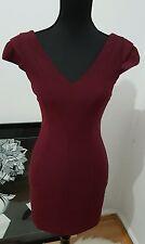 Burgundy dress size 6