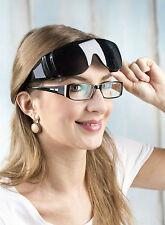 Sonnenbrille für Brillenträger Skibrille Überziehbrille UV400 Schutzbrille NEU