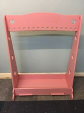 Dressing Up Rail, Hearts Design Powder Coated Pink