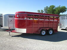 NEW CORN PRO 16' ALL STOCK / HORSE TRAILER * YEAR END SALE * DR TRAILER