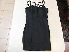 Women's GUESS Size S Mini / Micro Dress Black ExCon Stretchy Little LBD Ladies