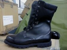 French Army Leather boots size Eur 49, UK 13.5/14 GORETEX