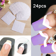 24 X 3D Nail Art Transfer Stickers Design Manicure Decal Decoration Tips Set New