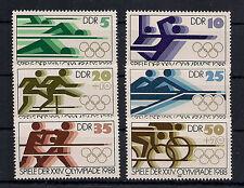 DDR - Briefmarken - 1988 - Mi. Nr. 3183-3188 - Postfrisch