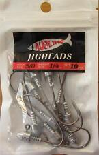 20  Size 5/0,  1/4OZ  Jig Heads  High Chemically Sharpened Hooks Fishing Tackle