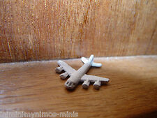 DOLL HOUSE 12th SCALE 'HAND PAINTED' TOY AEROPLANE !! BID NOW & DON'T MISS OUT!!