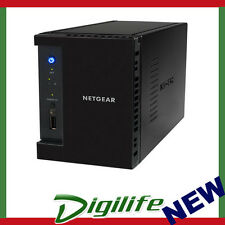 NETGEAR RN10200 ReadyNAS 102 Network Storage 2-Bay NAS USB 3.0 iSCSI Cloud