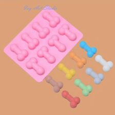 Novelty Hens Night Penis Willy Dick Silicone Ice Tray Chocolate Cake Jelly Mould