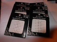 AVON SPARKLING NAIL JEWELS CLEAR