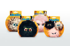 VIP Dog Novelty Squeaky Plush Ball Toy -Assorted Designs - iBalls Medium