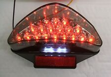 Yamaha Aerox LED light smoked rear tail light E marked OEM fit