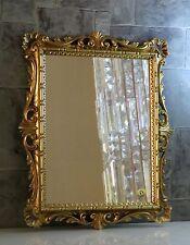 Wandspiegel Gold Ornamente Barockspiegel 43x37 friseurspiegel Flurspiegel C532