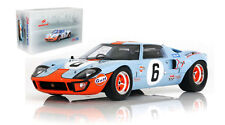 Spark 18LM69 Ford GT40 #6 Le Mans Winner 1969 - Ickx/Oliver 1/18 Scale