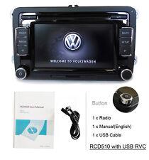 Car Stereo Radio RCD510 USB RVC AUX SD CD VW JETTA TIGUAN GOLF POLO T5 TOURAN