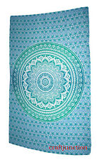 Twin Hippie Indian Tapestry Ombra Mandala Throw Boho Bedspread Wall Hanging Art