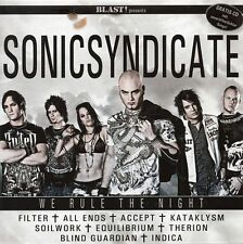 BLAST! - SONICSYNDICATE - We rule the Night SAMPLER Blind Guardian Accept Indica