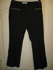 """BNWOT LADIES SIZE 14 LEG 31"""" BOOTCUT BLUE STRETCHY DENIM JEANS WITH ANKLE ZIP"""