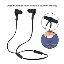 Bluetooth 4.0 Wireless Sports Headphone Headset Earbuds Stereo Mic Smartphone