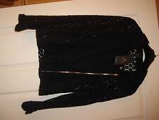 Ladies Atmosphere black lace  jacket  new with tags