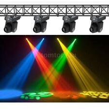 4x LIXADA DMX-512 Mini Moving Head Light RGBW LED Stage PAR Light 9/11CH 6SY3