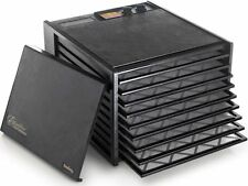 Excalibur 9 Tray Dehydrator in BLACK (WITH timer) 4926T | 5 Year Warranty