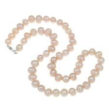 """Fashion Women Natural Freshwater Pink Pearl Necklace Chain Jewelry 18"""" AUW3US"""