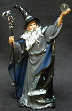EVOCATION   Wizard with Crystal and Staff  Statue  Figurine  H7.5""